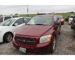 Lot: 65614.KPD - 2007 DODGE CALIBER - KEY / STARTS
