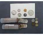 Lot: 7142 - STATEHOOD QUARTERS, DIMES & FOREIGN COIN