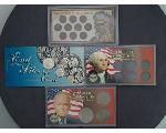 Lot: 7144 - COIN SETS - PENNIES, DOLLARS & SILVER COINS
