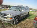 Lot: 01-244124 - 2001 CHEVROLET C1500 SUBURBAN SUV