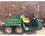 Lot: 4.ELECTRA - John Deere AMT 626 ATV - Key
