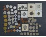 Lot: 7169 - NICKELS, PENNIES & FOREIGN COINS