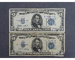 Lot: 7178 - 1934 FIVE DOLLAR BILLS