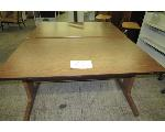 Lot: 68 - (2) WOOD TABLES