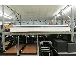 Lot: 74&75 - (7) PROJECTION SCREENS & ELEVATOR PADS