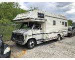 Lot: 52606 - 1984 CHEVROLET CHASSIS MOTORHOME