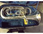 Lot: 261 - French Horn with case