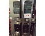 Lot: 274 - (2) Garland Master Stack ovens