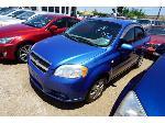 Lot: 07-154386 - 2007 Chevrolet Aveo - KEY / RUN DRIVE