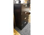 Lot: 15.BE - (4) CHAIRS & FILE CABINET