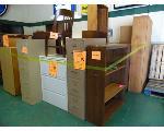 Lot: 75.UV - BOOKCASES, FILE CABINETS,  DESKS, FOLDING TABLE