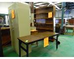 Lot: 78.UV - BOOKCASE, CABINET & TABLES