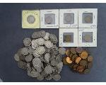 Lot: 311 - BUFFALO NICKELS & WHEAT PENNIES
