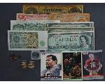 Lot: 314 - SPORTS CARDS, LOOSE STONES, FOREIGN BILLS & 14K RINGS<BR><span style=color:red>No Credit Cards Accepted! CASH OR WIRE TRANSFER ONLY!</span>