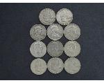 Lot: 321 - FRANKLIN HALVES
