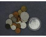 Lot: 7281 - SILVER ROUND & FOREIGN COINS