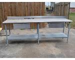 Lot: 1 - Eagle Stainless Steel Table