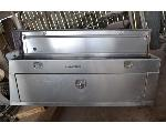 Lot: 8 - (2) Aluminum Toolboxes