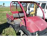Lot: 15 - 2007 Red Kawasaki Mule ATV