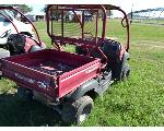 Lot: 16 - 2007 Red Kawasaki Mule ATV