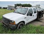 Lot: 245-EQUIP#011032 - 2001 FORD F-350 FLAT BED TRUCK