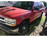 Lot: 534 - 2001 CHEVROLET TAHOE SUV - KEY / RUNS & MOVES