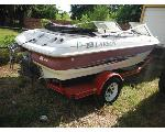 Lot: 15-664230C&664201C - LARSON BOAT W/ TRAILER
