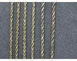 Lot: 891 - YELLOW METAL CHAINS, 10K & 14K CHAINS