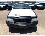 Lot: 267 - 2011 Ford Crown Victoria - Key<BR>VIN #2FABP7BVXBX182287