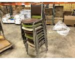 Lot: 193.CHILDRESS - (10) STACKABLE CHAIRS