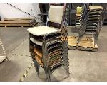 Lot: 194.CHILDRESS - (10) STACKABLE CHAIRS