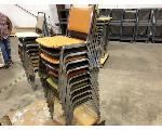 Lot: 195.CHILDRESS - (10) STACKABLE CHAIRS