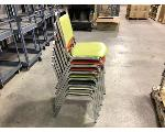 Lot: 196.CHILDRESS - (7) STACKABLE CHAIRS