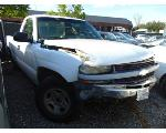 Lot: B9040601 - 2002 CHEVROLET SILVERADO PICKUP