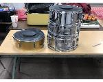 Lot: 11&12.MUSIC - Drums & Drum Stands