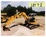 Lot: 07.BSH - Komatsu Mini Excavator - Key