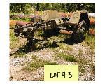 Lot: 09.BR - 1986 Single Axle Trailer