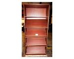 Lot: 02-22591 - (2) Wood Bookcases/Display Cases