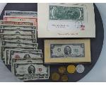 Lot: 904 - TOKENS, U.S. CURRENCY & FOREIGN CURRENCY