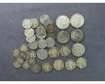 Lot: 908 - KENNEDY HALVES, QUARTERS, NICKELS & DIMES