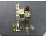 Lot: 912 - EARRING, WATCHES, RINGS & 10K RING