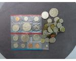Lot: 932 - MINT PROOF SET, IKE DOLLAR & FOREIGN