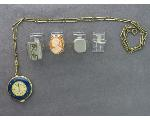 Lot: 7363 - RINGS, NECKLACE & 18K RING