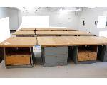 Lot: 20 - (12) Storage Tables