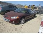 Lot: 40-631530 - 2001 CHRYSLER SEBRING