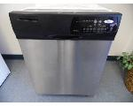 Lot: A7676 - Working Whirlpool Stainless Dishwasher
