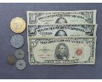 Lot: 7391 - TOKENS & U.S. CURRENCY