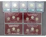 Lot: 7411 - COMMEMORATIVE NICKELS & QUARTERS