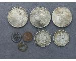 Lot: 51 - MORGAN & PEACE DOLLARS, LIBERTY & FRANKLIN HALVES