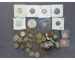 Lot: 55 - PEACE DOLLAR, QUARTERS, DIMES, NICKELS & PENNIES